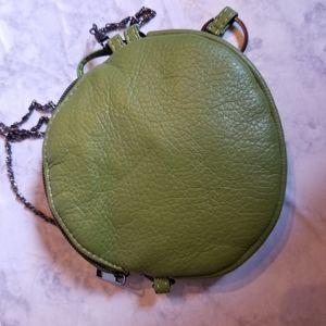 Bags - Flower Mini Bag Purse Chain Wallet Green Small